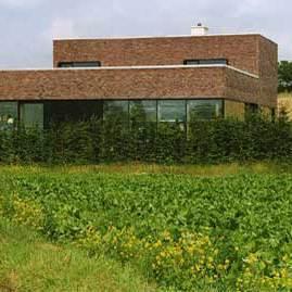 Steenbakkerij Hove - Ninove - Veldkeus gevelsteen